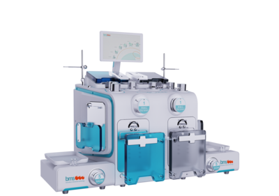 Automatic blood separator